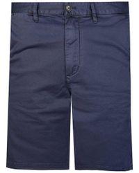 Armani - Emporio Chino Shorts Navy - Lyst