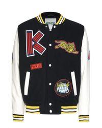 KENZO - Men's Varsity Jacket - Lyst