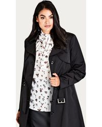 City Chic - City Life Trench - Lyst