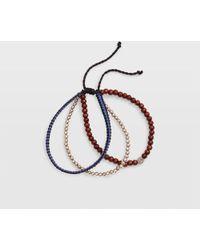 Club Monaco - Beaded Bracelet Pack - Lyst