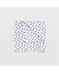 Club Monaco - Ditsy Floral Pocket Square - Lyst