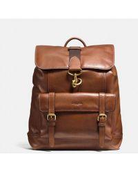 COACH - Bleecker Backpack In Sport Calf Leather - Lyst