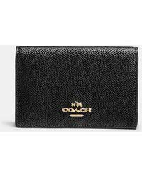COACH - Business Card Case - Lyst