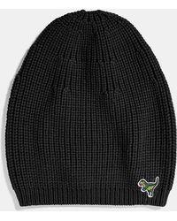 COACH - Knit Rexy Hat - Lyst