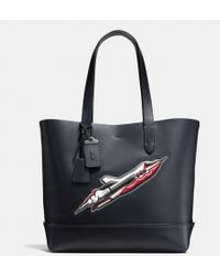 COACH - Rocket Ship Gotham Tote In Glovetanned Leather - Lyst