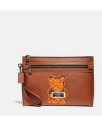 COACH - Academy Pouch - Lyst
