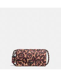 COACH - Dinky In Printed Haircalf - Lyst
