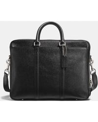 COACH - Metropolitan Double Zip Business Case - Lyst