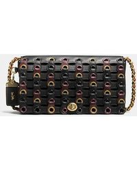 COACH - Dinky In Link Leather - Lyst