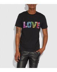 COACH - Love By Jason Naylor T-shirt - Lyst