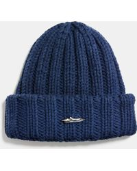 COACH - Ribbed Chunky Hat - Lyst
