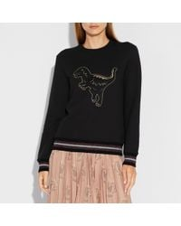COACH - Embroidered Rexy Sweatshirt - Lyst