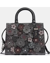 COACH - Rogue 25 With Crystal Tea Rose - Lyst