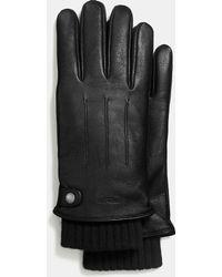 COACH - 3-in-1 Glove - Lyst