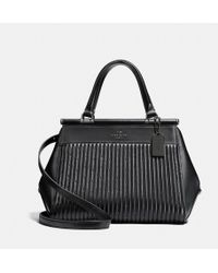 COACH - Grace Bag With Quilting And Rivets - Lyst