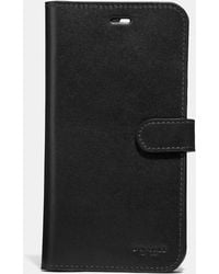 COACH Iphone 7 Plus/8 Plus Folio - Black