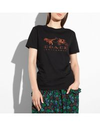 COACH | Rexy And Carriage T-shirt | Lyst