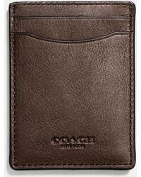 COACH - 3-in-1 Card Case In Sport Calf Leather - Lyst