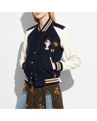 COACH - Varsity Jacket - Lyst