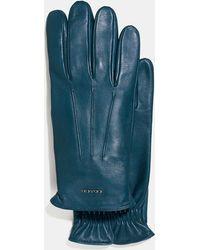 COACH - Tech Napa Glove - Lyst