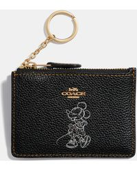 COACH - Boxed Minnie Mouse Mini Skinny Id Case - Lyst