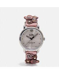 COACH - Delancey Watch, 36mm - Lyst