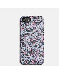 COACH - X Keith Haring Iphone 7 Case - Lyst