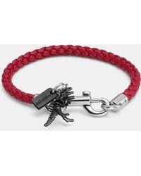 COACH - Charms Friendship Bracelet - Lyst