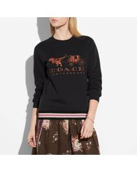 COACH - Rexy And Carriage Sweatshirt - Lyst
