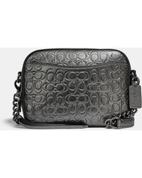 Lyst - COACH Edie Shoulder Bag 42 With Embellished Leopard Print in ... 1ae725ca05025