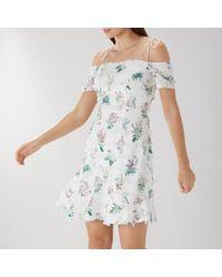 Coast - Siano Tassle Cotton Dress - Lyst