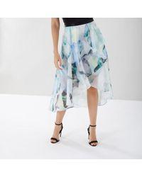 John Lewis - Coast Mace Print Skirt - Lyst