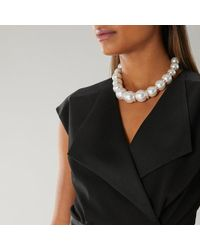 Coast - Jess Pearl Statement Necklace - Lyst