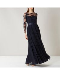 Coast - Odetta Lace Maxi Dress - Lyst