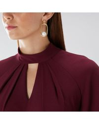 Coast - Darcie Pearl Earrings - Lyst