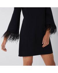 Coast - Amiah Feather Dress - Lyst
