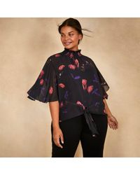 Coast - Cc Nyla Printed Top - Lyst