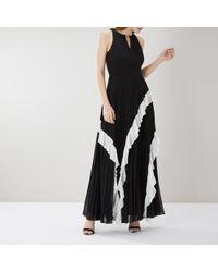 Coast - Rosamund Pleated Maxi Dress Me - Lyst