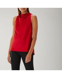 Coast - Hayley Drape Top - Lyst