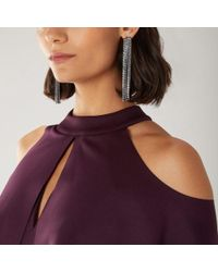 Coast - Uma Crystal Tassel Earrings - Lyst