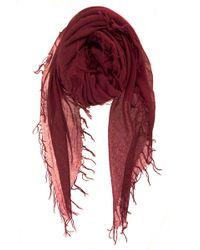 Chan Luu - Cashmere Silk Scarf In Biking Red - Lyst