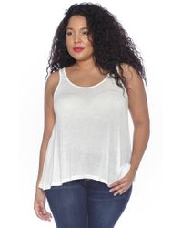 Slink Jeans - The Relaxed Fit Tank Top - Lyst