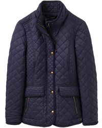 Joules - Newdale Quilted Jacket - Lyst