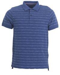 Tommy Hilfiger - Stripe Polo Shirt - Lyst