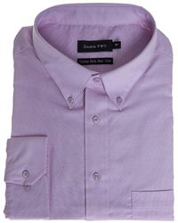 Double Two - Big Size Long Sleeve Shirt - Lyst