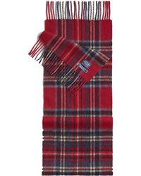 Joules - Tytherton Wool Checked Scarf - Lyst
