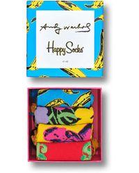 Happy Socks - Andy Warhol Sock Box - Lyst