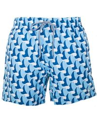 Ted Baker - Saome Wave Printed Swim Short - Lyst