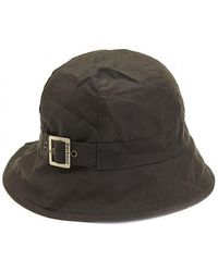 Barbour - Wax New Trench Hat - Lyst