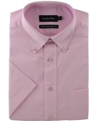 Double Two - Big Size Short Sleeve Shirt - Lyst